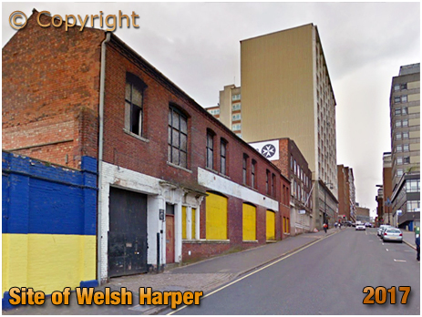 Birmingham : Site of the Welsh Harper in Lionel Street [2017]