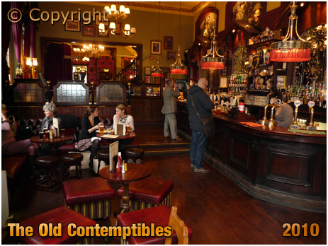 Birmingham : Interior of the Old Contemptibles on the corner of Livery Street and Edmund Street [2010]