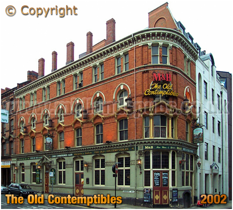 Birmingham : The Old Contemptibles on the corner of Livery Street and Edmund Street [2002]