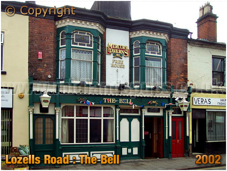 Birmingham : The Bell on Lozells Road at Handsworth [2002]