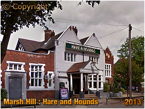 Birmingham : The Hare and Hounds on Marsh Hill at Erdington [2013]