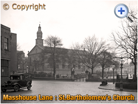 Birmingham : Saint Bartholomew's Church in Masshouse Lane at Duddeston [1936]