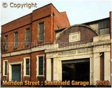Birmingham : Smithfield Garage in Meriden Street [2008]