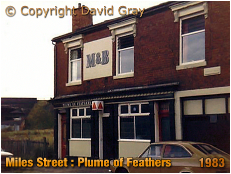 Birmingham : The Plume of Feathers in Miles Street in Bordesley [1983]