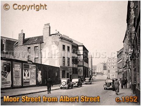 Birmingham : Moor Street from Albert Street [c.1952]