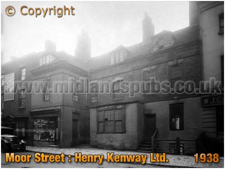 Birmingham : Henry Kenway Limited [Ale & Porter Bottlers] in Moor Street [1938]