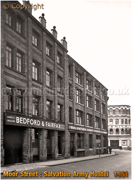 Birmingham : Salvation Army Hostel on Moor Street [1961]