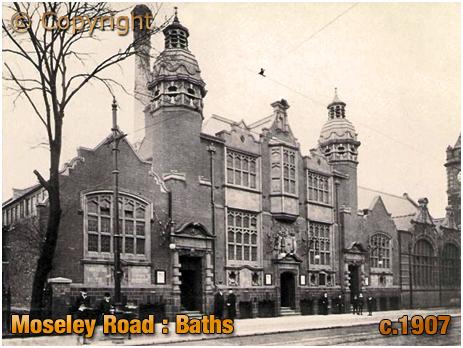Birmingham : Moseley Road Baths on Moseley Road at Balsall Heath [c.1907]