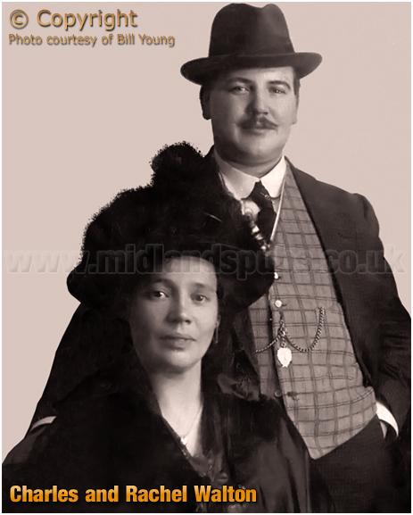 Birmingham : Charles and Rachel Walton of the Belgrave Hotel