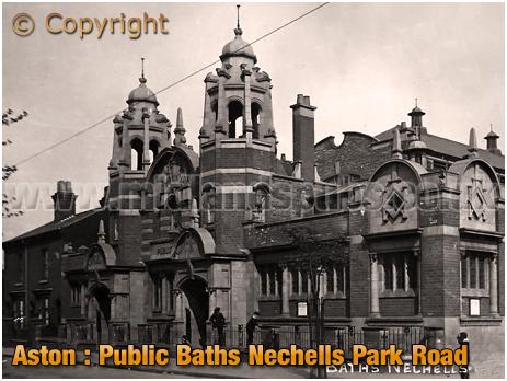 Birmingham : Public Baths on Nechells Park Road [c.1912]
