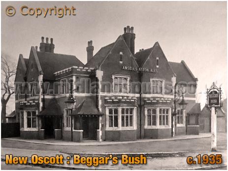 Birmingham : The Beggar's Bush at New Oscott in Erdington [c.1935]