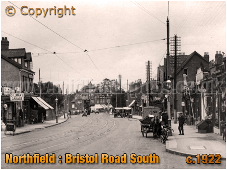Birmingham : Bristol Road South at Northfield [c.1922]