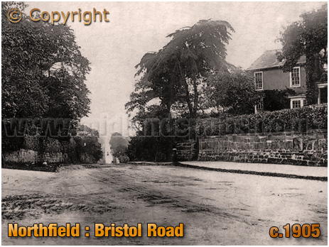 Birmingham : Bristol Road at Northfield [c.1905]