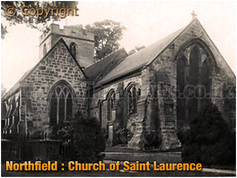 Birmingham : Church of Saint Laurence at Northfield [c.1910]