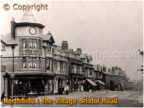 Birmingham : The Village and Bristol Road at Northfield [c.1910]
