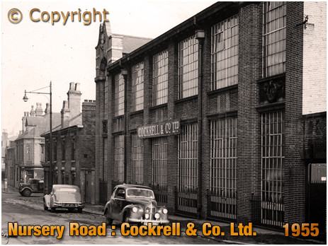 Cockrell & Co. Limited on Nursery Road in Hockley [1955]