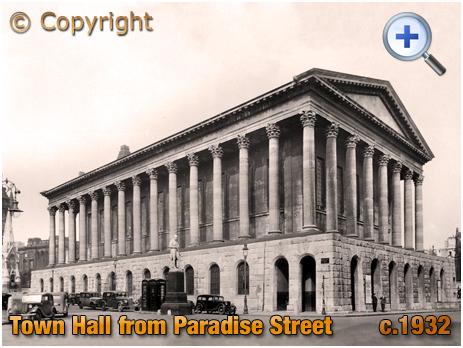 Birmingham : Town Hall from Paradise Street [c.1932]