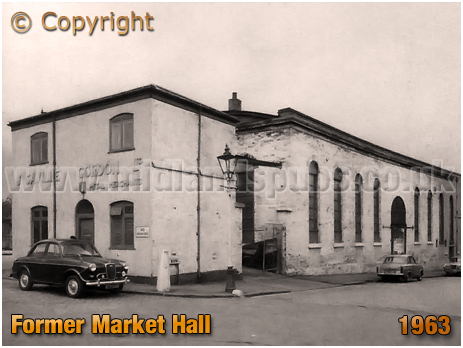 Birmingham : Former Market Hall at Prospect Row, Belmont Row and A. B. Row [1961]