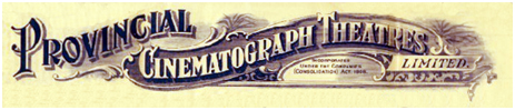Provincial Cinematograph Theatres Limited