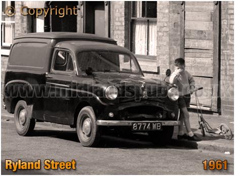 Birmingham : Van Saloon in Ryland Street at Ladywood [1961]