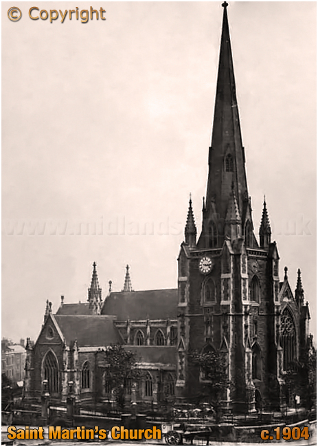 Birmingham : Saint Martin's Church [c.1904]