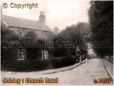 Birmingham : Church Road at Shirley [1907]