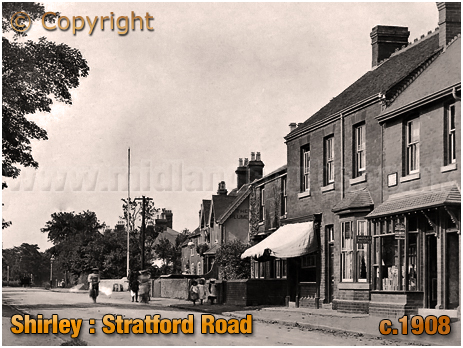 Birmingham : Stratford Road Post Office at Shirley [1908]