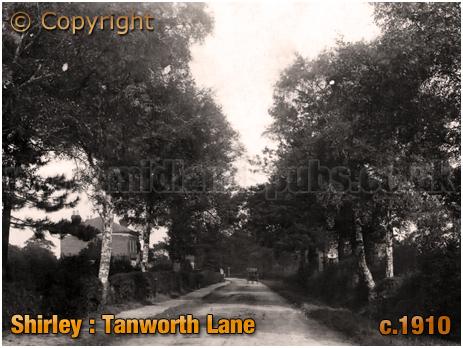 Birmingham : Tanworth Lane at Shirley [c.1910]