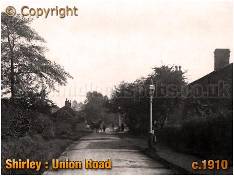 Birmingham : Union Road at Shirley [c.1910]