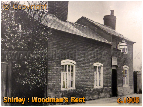 Shirley : Woodman's Rest in Union Road [c.1908]
