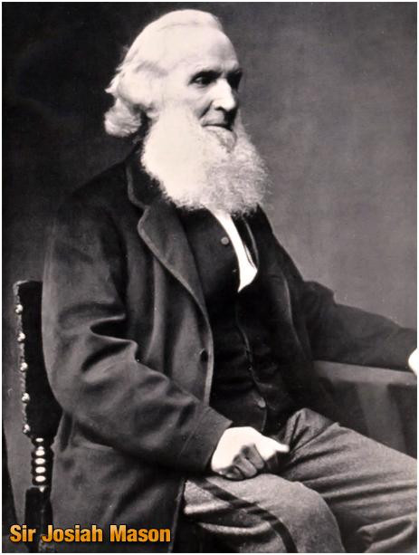 Birmingham : Sir Josiah Mason [1795-1881]