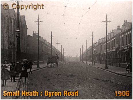 Birmingham : Byron Road in Small Heath [1906]