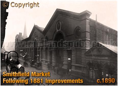 Birmingham Smithfield Market [c.1890]