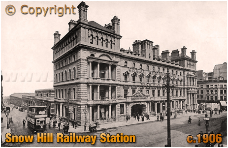 Birmingham : Snow Hill Railway Station [c.1906]