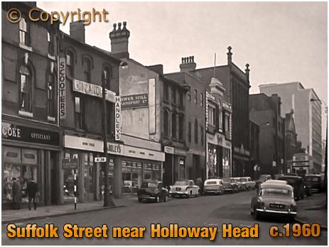 Suffolk Street near Holloway Head [c.1960]