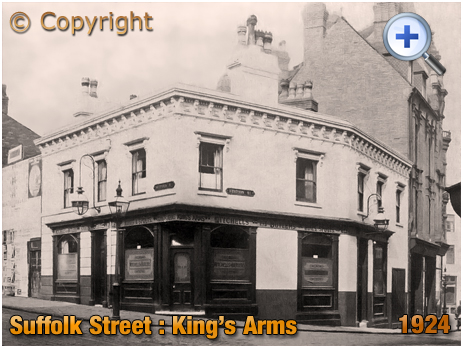 Birmingham : King's Arms on the corner of Suffolk Street and Station Street [1924]