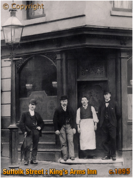Birmingham : Manager of the King's Arms Inn on Suffolk Street [c.1895]