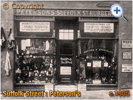 Peterson's Suffolk Street Rubber Company in Birmingham [c.1905]