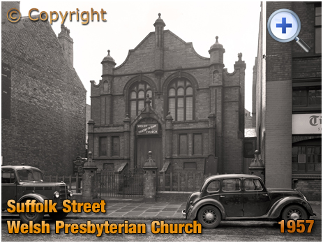 Birmingham : Welsh Presbyterian Church in Suffolk Street [1957]