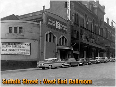 West End Cinema and Ballroom on Suffolk Street in Birmingham [1960s]