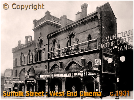West End Cinema on Suffolk Street in Birmingham [c.1931]