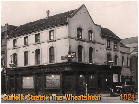 Birmingham : The Wheatsheaf Inn on the corner of Suffolk Street and Severn Street [1924]