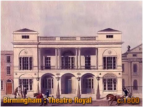 Theatre Royal at Birmingham [c.1800]