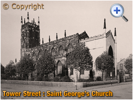 Birmingham : Saint George's Church in Tower Street at Hockley [c.1954]
