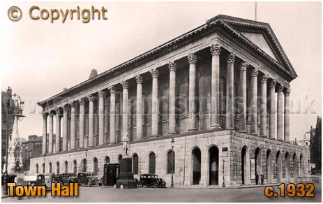Birmingham Town Hall [c.1932]