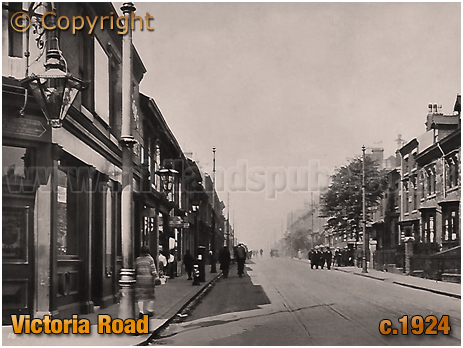 Birmingham : Victoria Road in Aston [c.1924]