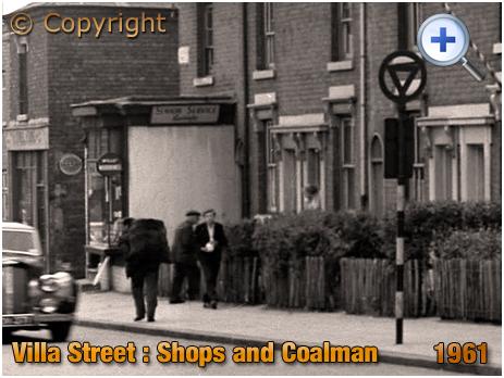 Shops on Villa Street in Hockley [1961]