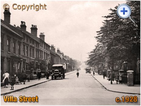 Birmingham : Villa Street from Nursery Road in Lozells [c.1928]