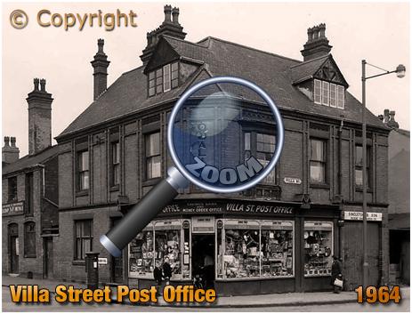 Villa Street : Post Office on the corner of Nursery Road [1964]