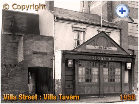 Birmingham : The Villa Tavern in Villa Street in Lozells [1958]